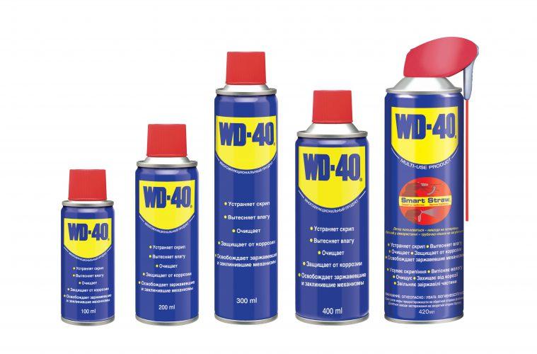 klusjes met WD-40