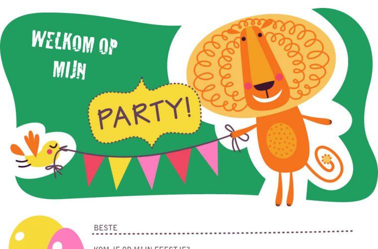 Wonderbaar Uitnodigingen kinderfeestje jongens om te printen | Top-3 kado- en LV-93