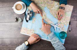 kado voor iemand die graag reist