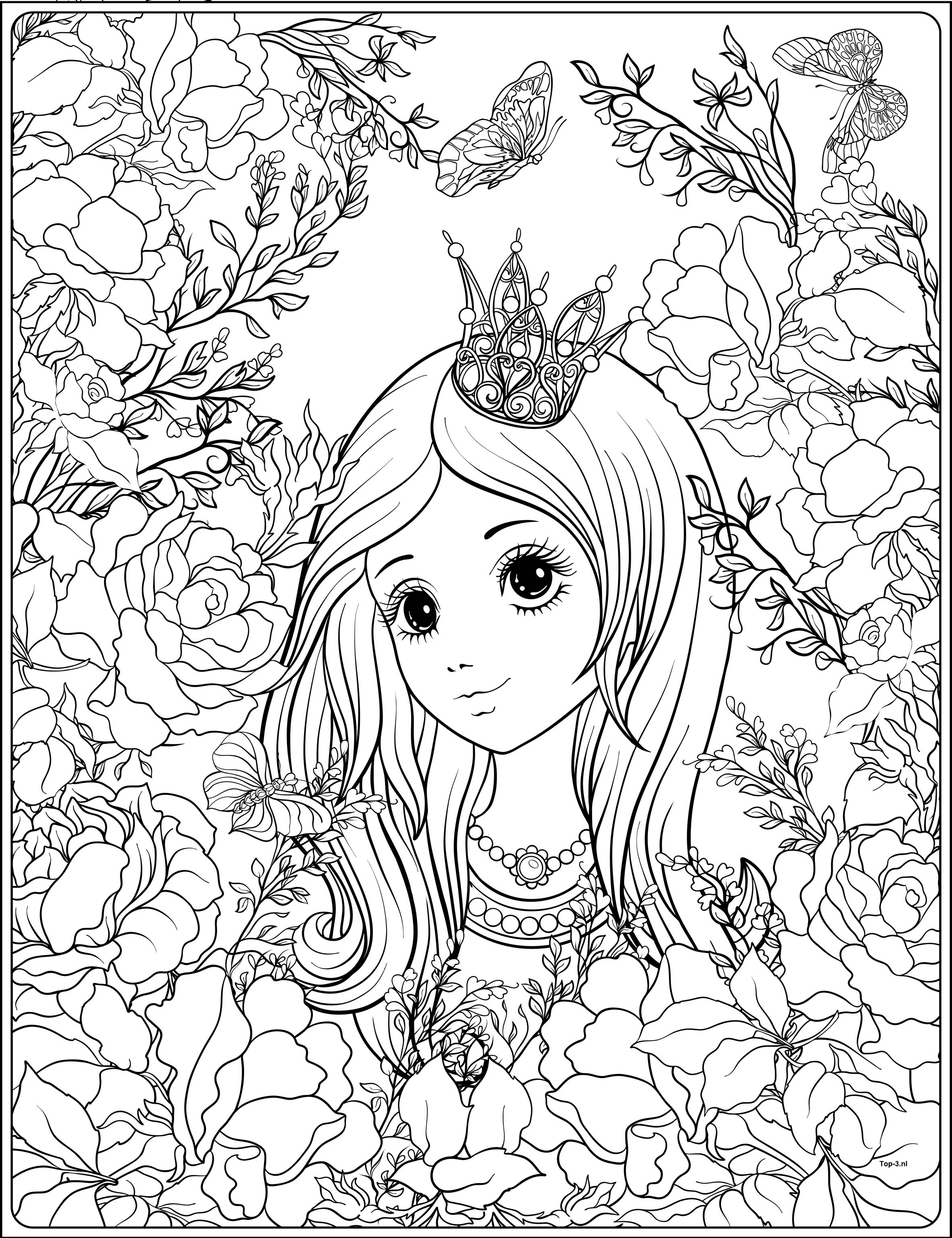 prinses zeemeermin en sprookjes kleurplaten top 3 kado